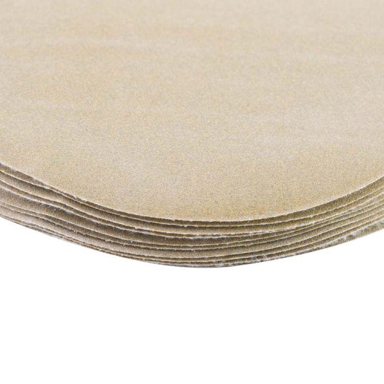 Шлифовальный круг без отверстий Ø125мм Gold P240 (10шт) Sigma (9120111) - 4