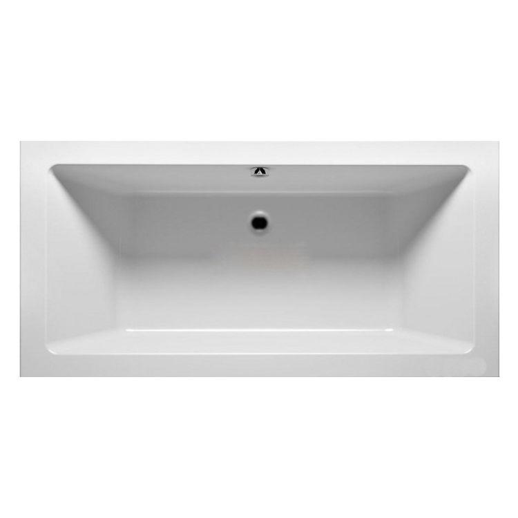 MODO прямокутна ванна 180*80см, центральний злив, з ніжками SN7 - 1