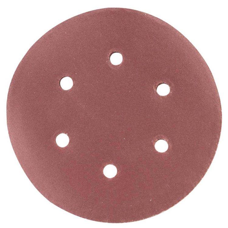 Шлифовальный круг 6 отверстий Ø150мм P240 (10шт) Sigma (9122311) - 1