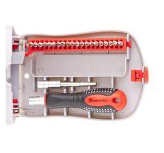 Отвертка для точных работ с насадками Fusion, 22 предмета, в пластиковом пенале, MTX
