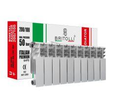 Радиатор биметаллический Britolli 200/100 30 бар