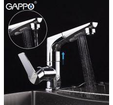 Змішувач для кухні з висувним виливом Gappo G1299