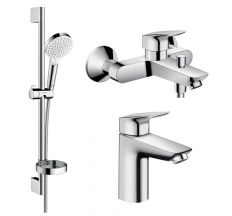 Logis Набір змішувачів для ванни (71100000+71400000+26553400)