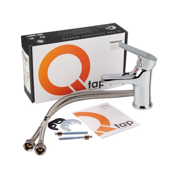 Змішувач для умивальника Q-tap Uno 001 CRM - 5