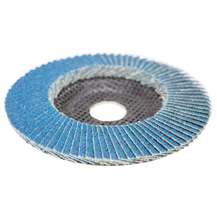 Круг лепестковый торцевой Т29 (конический) ZA Ø125мм P60 Sigma (9173531) - 3