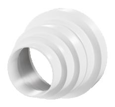 Редуктор круг. 80/100/120/150мм арт310
