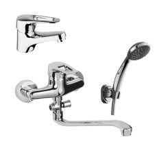 NARCIZ набір змішувачів для ванни (RBZ100-1,RBZ100-9A)