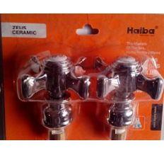 HAIBA ручки ZEUS (с кранбусами,пара)резина (40 шт/ящ)