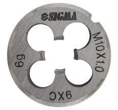 Плашка М10×1,0 мм Sigma (1604261)
