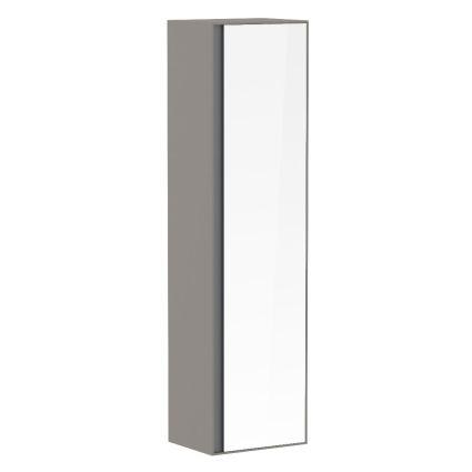 Пенал 150*40*35см, підвісний, з дзеркалом, капучино (меблі під умивальник VERITY LINE) - 1