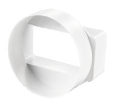 Редуктор круг./плоск. 100/110*55мм арт115