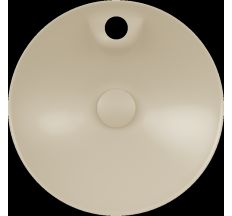 DAMA di VENEZIA умывальник Ø 45см, с отверстием под смеситель, matt ivory