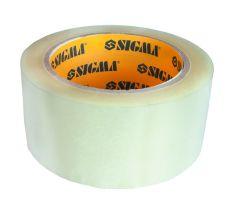 Скотч упаковочный прозрачный 45ммх500м Sigma (8401291)