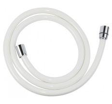 Шланг для душу FERRO 150 см білий PVC W42