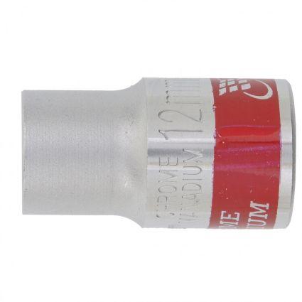 Головка торцева, 12 мм, 12-гранна, CrV, хромована MTX MASTER 136849 - 1