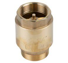 "Клапан зворотний M1 1/4""xF1 1/4"" (латунь) euro 510г AQUATICA (779657)"