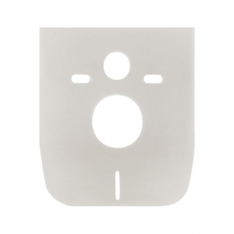 Набір Qtap інсталяція 3 в 1 Nest QT0133M425 з панеллю змиву круглої QT0111M11112CRM + унітаз з сидінням Crow QT05335170W - 9