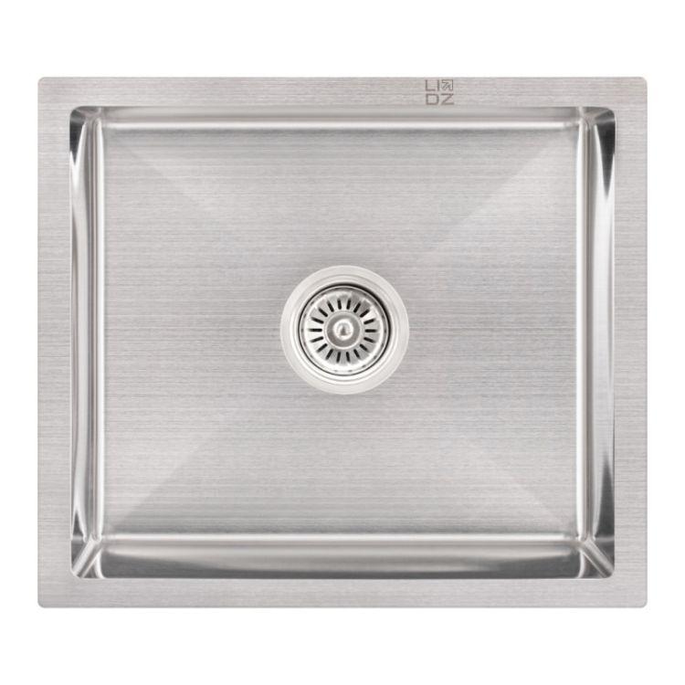 Кухонна мийка Lidz H5245 Brush 3.0/1.0 мм (LIDZH5245BRU3010) - 1
