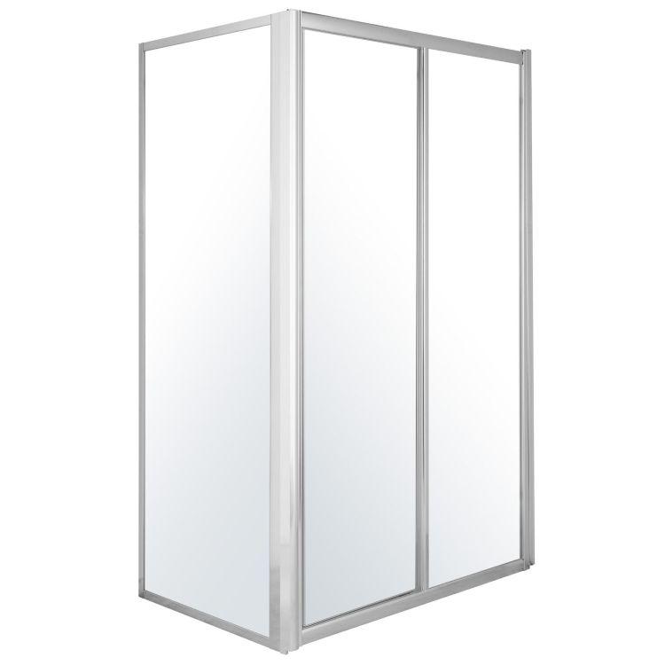 Боковая стенка 90*185 см, для комплектации с дверьми 599-153 - 2