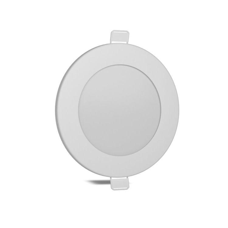 Світильник світлодіод 6W 1-VS-5102 LED врізний круглий Vestum 4000K 220V - 2