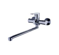 Z63-PUD7-A146 ZEGOR Смеситель для ванны,длинный гусак, к.35
