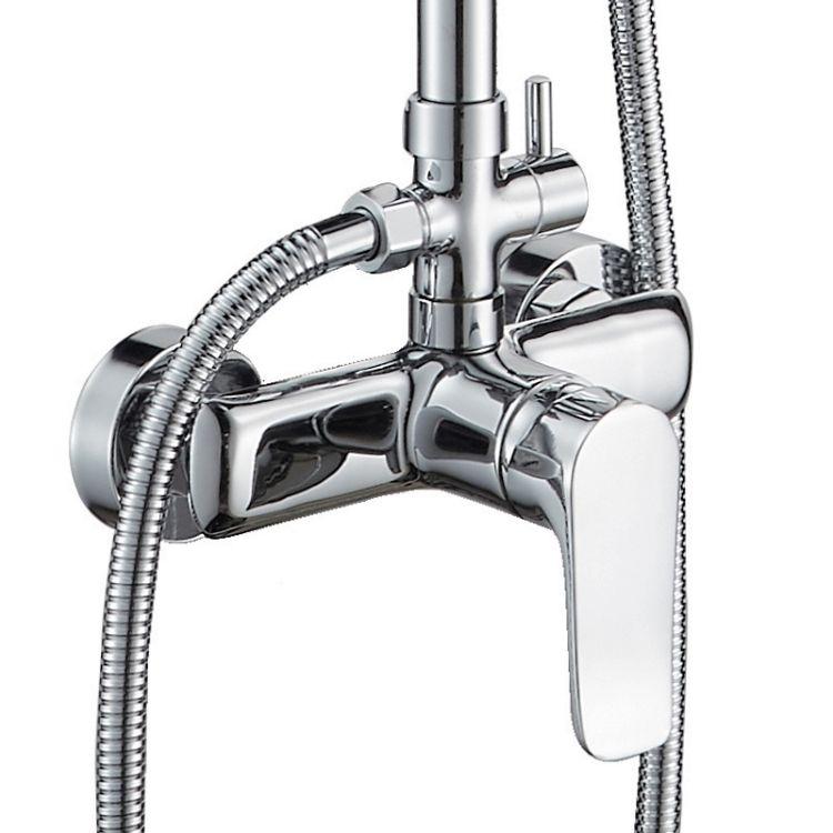 VELUM система душова (змішувач для душу, верхній та ручний душ) - 3