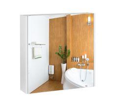 Зеркальный шкаф подвесной Qtap Scorpio QT1477ZP601W