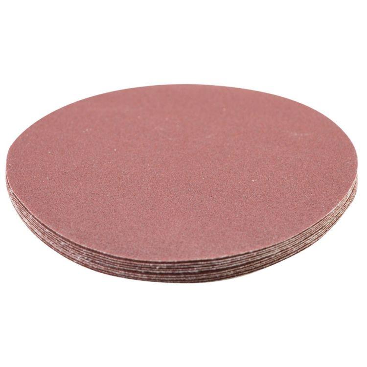 Шлифовальный круг без отверстий Ø125мм P150 (10шт) Sigma (9121131) - 3