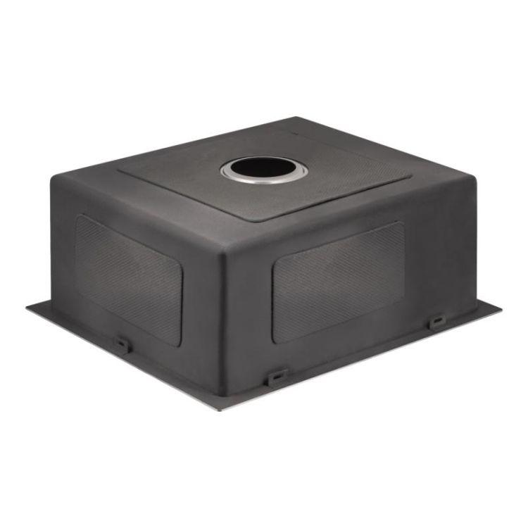 Кухонна мийка Lidz H5245 Brush 3.0/1.0 мм (LIDZH5245BRU3010) - 5