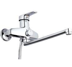 Z65-NVL-A182 ZEGOR Смеситель для ванны, длинный гусак