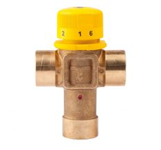 """Змішувач термостатичний Icma 3/4"""" для геліосистеми №S101"""