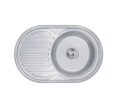 Кухонна мийка Lidz 7750 Decor 0,6 мм (LIDZ775006DEC160)
