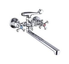 Смеситель для ванны Zegor длинный гусак T65-DTZ7-A827