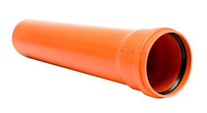 Труба Інсталпласт ПВХ 200х4,9х2000 - 1