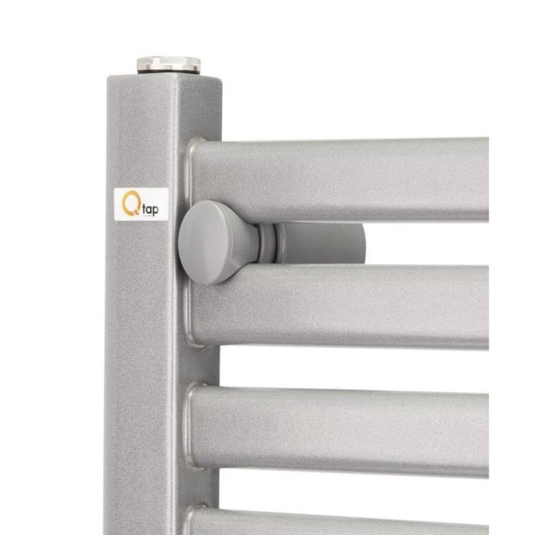 Рушникосушарка водяна Q-tap Dias (SIL) P12 600x500 HY - 7