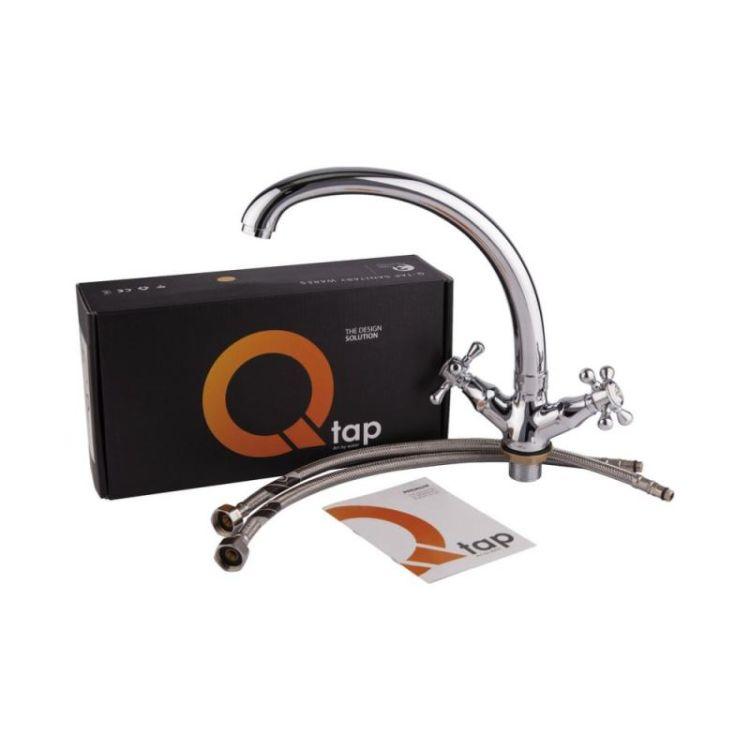 Змішувач для кухні Q-tap Mayfair 273 F СRM - 4