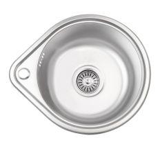 Кухонна мийка Lidz 4539 dekor 0,8 мм (LIDZ4539MDEC)