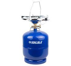 Комплект газовий кемпінг з п'єзопідпалом Comfort 8л SIGMA (2903121)
