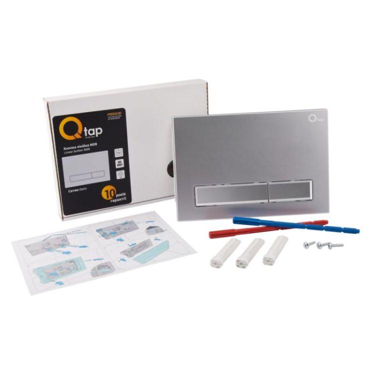 Набір Qtap інсталяція Nest QTNESTM425M08SAT + унітаз з сидінням Lark QT0331159W - 10