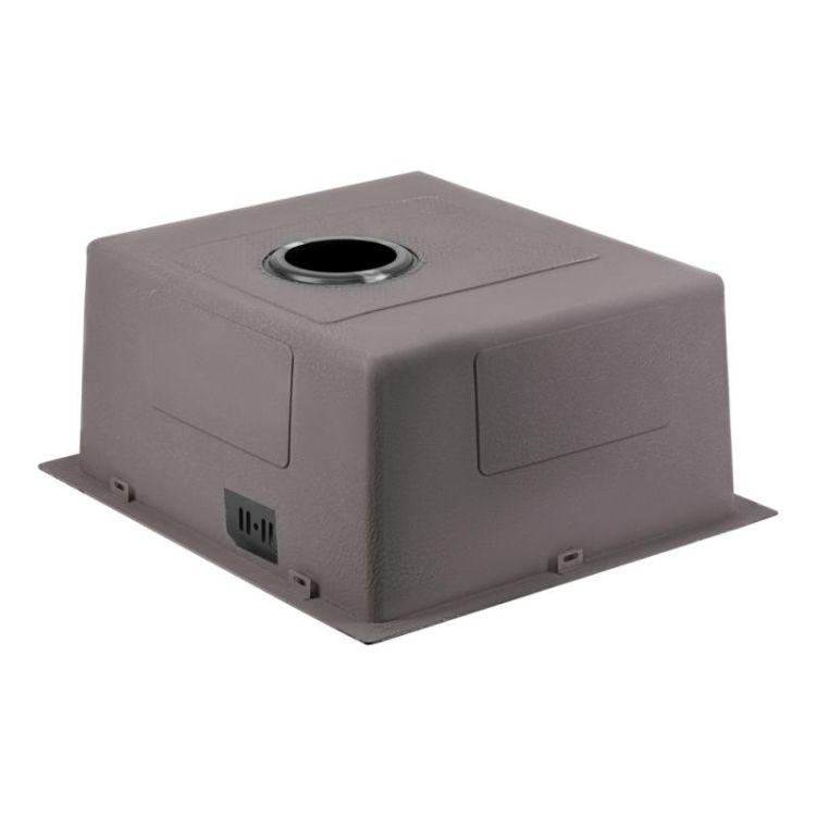 Кухонна мийка Qtap D4843BL 2.7/1.0 мм (QTD4843BLPVD2710) - 5