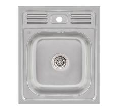 Кухонна мийка Lidz 6050 Satin 0,6 мм (LIDZ605006SAT)