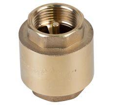 "Клапан зворотний F3/4""xF3/4"" (латунь) euro 205г AQUATICA (779652)"