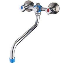 Смеситель для ванны Solone BT6-JIK7-A101 гусак круглый