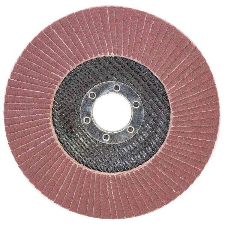 Круг лепестковый торцевой Т29 (конический) Ø125мм P220 Sigma (9172691) - 1