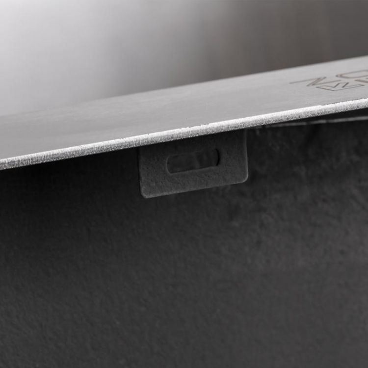 Кухонна мийка Lidz H5050 Brush 3.0/1.0 мм (LIDZH5050BRU3010) - 8