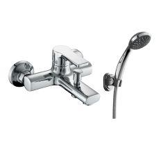 DUCT змішувач для ванни одноважільний, хром 35 мм