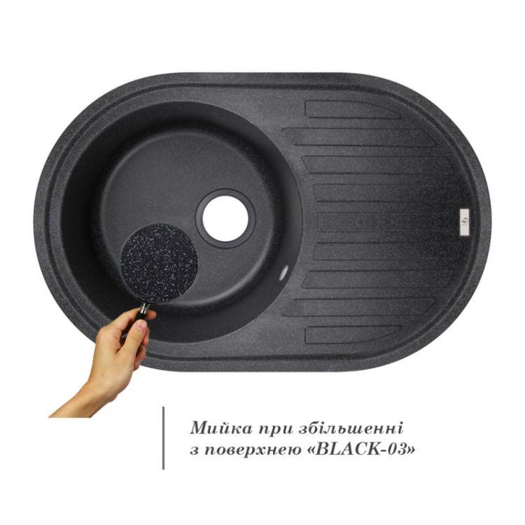 Кухонна мийка GF BLA-03 (GFBLA03780500200) - 3