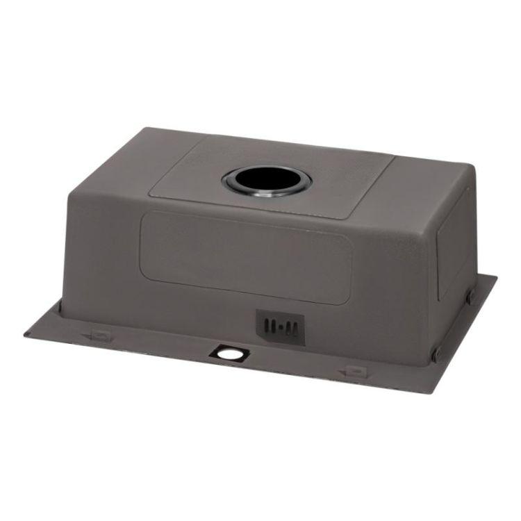 Кухонна мийка Qtap D5843BL 2.7/1.0 мм (QTD5843BLPVD10) - 5