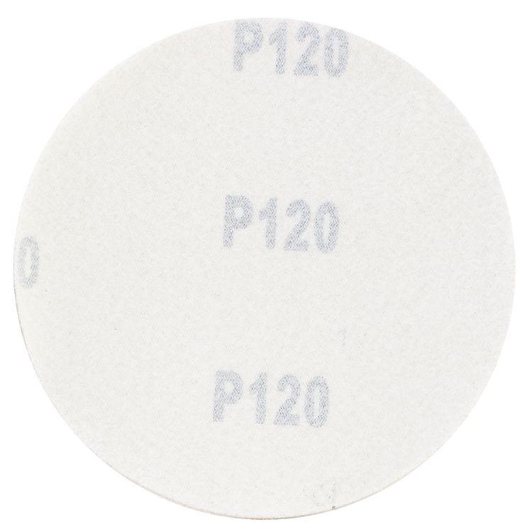 Шлифовальный круг без отверстий Ø125мм Gold P120 (10шт) Sigma (9120071) - 2