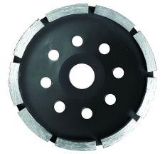 Круг алмазный сегментный шлифовальный (чашечный, 1 ряд) Ø180х5.0х22.2мм, 8500об/мин Sigma (1912051)